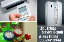 Ac Fridge Service Repair and Gas Filling Workshop in Dubai