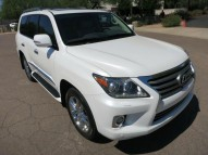 BUY 2013 LEXUS LX 570 WHITE