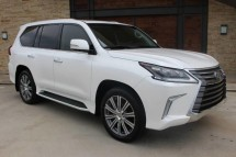 6 MONTH USED LEXUS LX 570 2016 FOR SALE