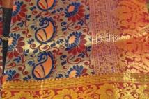 3d brocade silk sarees