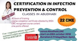 Certification in Infection Prevention & Control Training