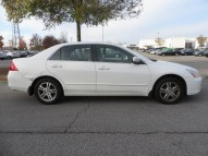 Honda Accord 2007 White Color