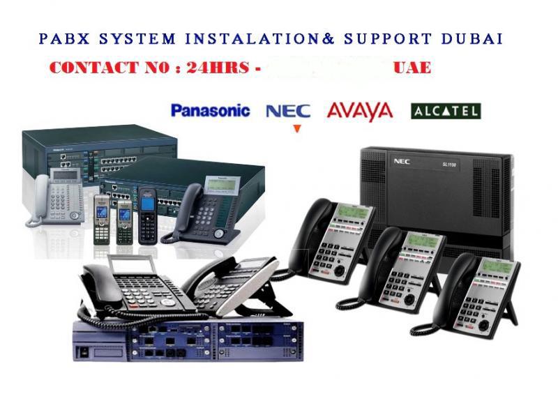 PABX DUBAI UAE OFFICE TELEPHONE INSTALL SETUP SERVICE REPAIR
