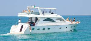 Luxury Yacht Cruises and fun at Jumeirah Dubai