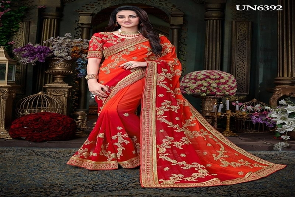 3ff1979659f Latest Wedding sarees online shopping at Mirraw. - Clothing ...