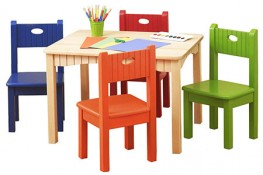 Children Table and Chair