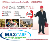 Palm Jumeirah Annual Villa Home Maintenance Contract Packages and Services Dubai Emergency Home Maintenance repair Company Dubai UAE