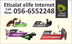 Etisalat Elife Internet, TV and Landline services