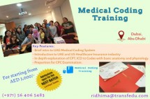 UAE: Medical Coding Course/Training with DHA/HAAD Coding guidlines in Dbai|ABu dhabi