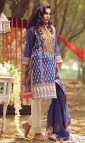 Pakistani Embroidered Lawn Dresses