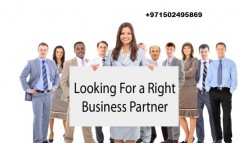 Looking for a Business Partner in Dubai