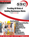 Call us for Building Maintenance & MEP Contract