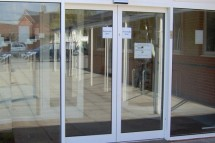 Automatic door systems in Dubai.