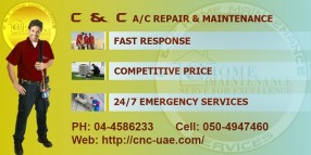 Air Conditioning Repair and Maintenance, Aircon Repair Dubai