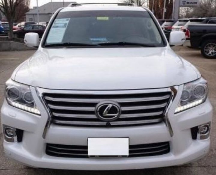 LEXUS LX 570 2015 USED BY EXPAT