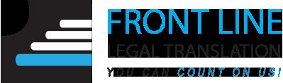 Front Line Legal Translation
