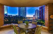 San Diego Downtown Rare Three bed rental in Luxury Building