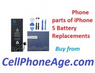 Phone parts of iPhone 5 battery replacements