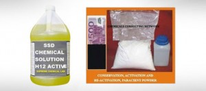 SSD CHEMICAL SOLUTION AND ACTIVATION POWDER FOR SELL