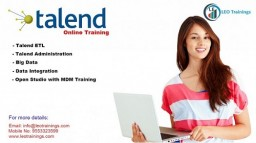 Online Talend Openstudio Training
