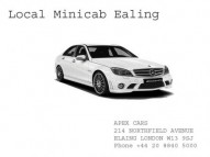 Looking for best Local Minicabs in Ealing Visit Apex Cars