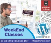 WordPress Training- WEEKEND classes-Dubai-0503034197